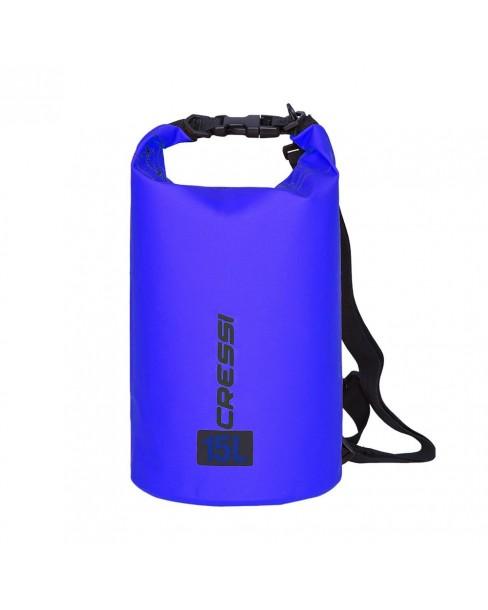 Cressi Στεγανή Τσάντα 15L (Μπλε)