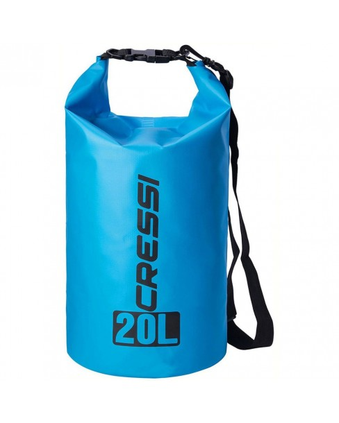 Cressi Dry Bag Light Blue 20L