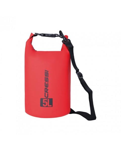 Cressi Dry Bag Red 5lt