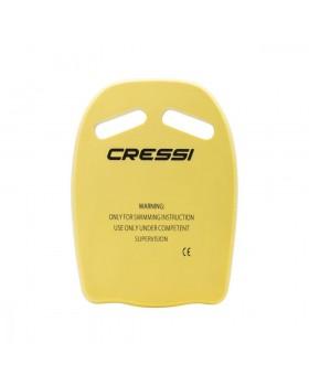 Cressi Free Flow Kickboard Yellow
