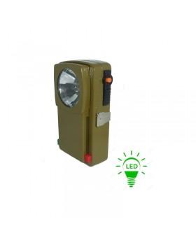 Φακος LED Πλακέ 4.5V Με Φίλτρο Εναλλαγής Κόκκινου - Πράσινου Χρώματος