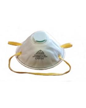 Μάσκα σωματιδίων με βαλβίδα εκπνοής