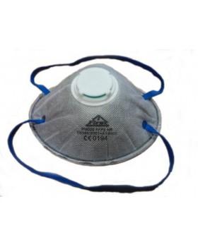 SNCM FFP2 NR [Non Reusable - Μη επαναχρησιμοποιούμενη] Μάσκα σωματιδίων με βαλβίδα, ενεργού άνθρακα