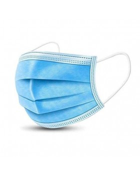 3PLY DISPOSABLE FACE MASKS (10 τεμ.)
