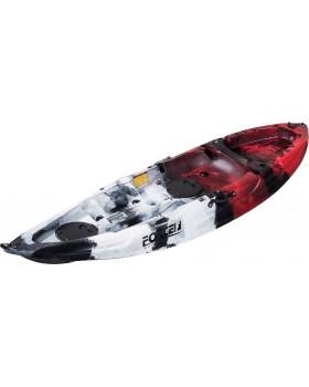 Kayak Ψαρέματος Ατομικό Force Andara SOT 2.75X0.78X0.40m - Κόκκινο - NJG-0100-0120RBW