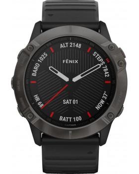 Garmin Fenix 6X Sapphire (Carbon Grey DLC with Black Band)