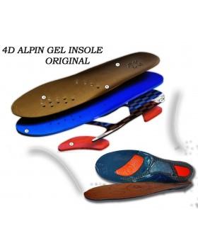 Ανατομικός Πάτος Σιλικονης 4D ALPIN