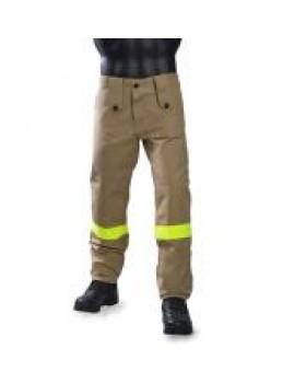 Survivors Παντελόνι Πυροσβεστικής Εποχικών καφέ με κίτρινα