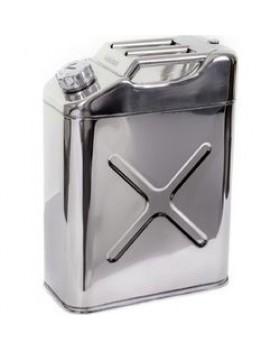 Κάνιστρο Μεταφοράς Καυσίμου Inox 20Lt