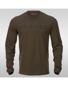 T-Shirt Κυνηγετικό Harkila MOUNTAIN HUNTER L/S