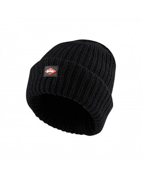 Lee Cooper Knitted Beanie LCHAT624 Black