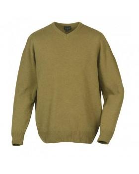 LE CHAMEAU GRANDVILLE πουλόβερ V-neck (λαδί)