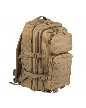 MIL-TEC Σάκος Πλάτης Assault LG Tactical 36 Λίτρων - Άμμος Ερήμου