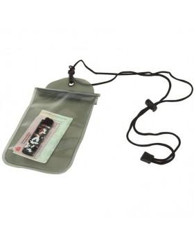 MIL-TEC Στεγανή Θήκη Εγγράφων & Smartphone 14 Χ 23 cm - Χακί
