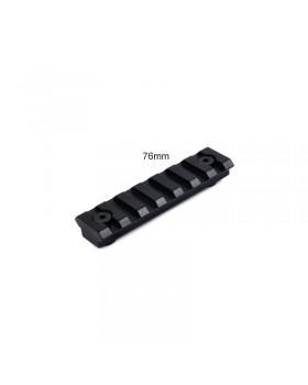 Ράγα PICANTINNY WEAVER RAIL 20mm 7.6cm/7 SLOTS LT272