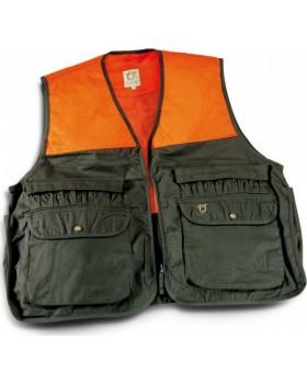 Toxotis Active Wear Γιλέκο Κυνηγιού Πορτοκαλί/Χακί 1011