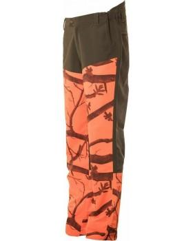 Toxotis Active Wear Παντελόνι Camo Orange 100% Αδιάβροχο