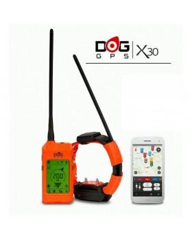 GPS κολάρο για σκύλους DOG trace με ρευμα GPS X30