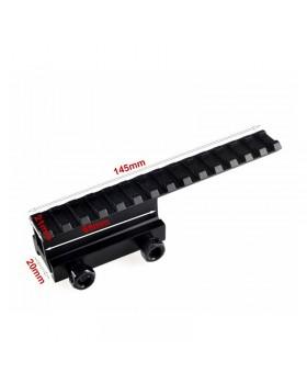 Βάση Riser Picatinny Rail Mount 20mm LT026