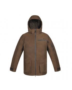 VikinX Jacket Kare-19 (Solid Brown) (vx 1002b)