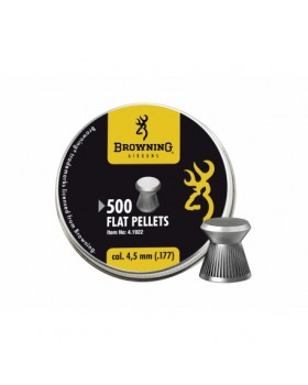 Browning-Flat Pellets .177/500 (7,1 grains)