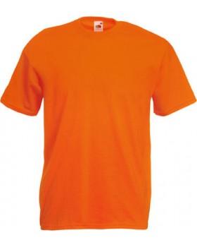 T-Shirt Βαμβακερό Fruit of the Loom® orange