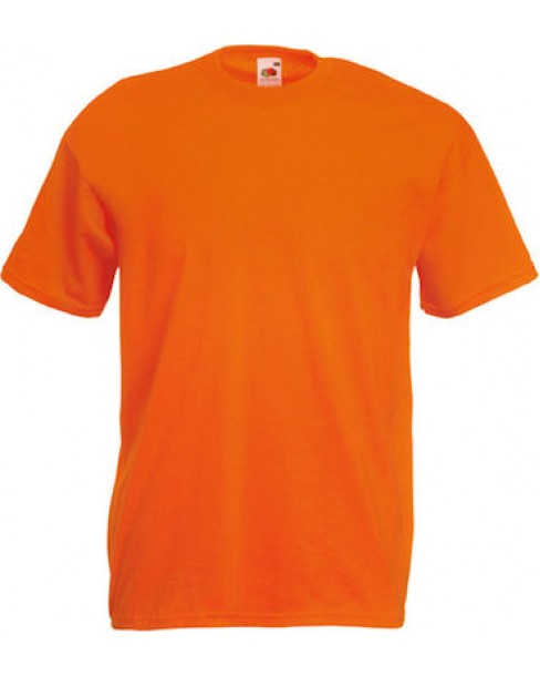 T-Shirt Βαμβακερό Fruit of the Loom® orange