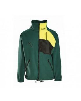 Ζακέτα Fleece Dispan 27F Πράσινο