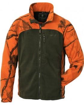 Ζακέτα Fleece Pinewood Oviken Χακί Πορτοκαλί 8761-932