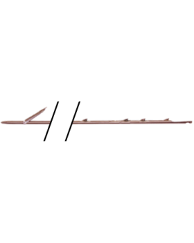 Kamax Shaft 6,75mm-1 wihg 4 Shark Fins