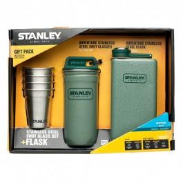 Σετ Φλασκί Stanley Adventure Steel Flask 0.23L με 4 Ποτήρια ΘΕΡΜΟΣ