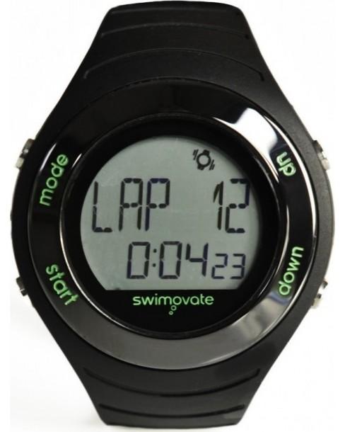 Ρολόι Swimovate PoolmateLive Black Rubber Strap