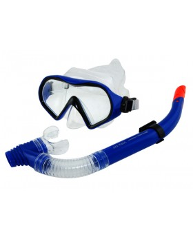 Blue Wave-Σετ Μάσκα / Αναπνευστήρας Vera Tr Blue