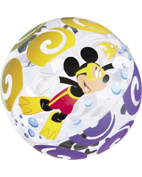 Intex-Mickey and Friends Transparent Beach Ball