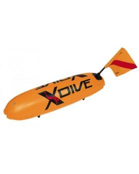 Σημαδούρα XDive PVC Πορτοκαλί