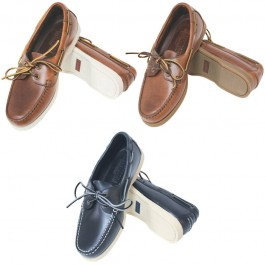 Deck shoes ``Skipper`` καφέ δέρμα/καφέ σόλα No.44 ΝΑΥΤΙΚΟΣ ΡΟΥΧΙΣΜΟΣ - ΝΙΤΣΕΡΑΔΕΣ