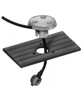 Βάση χωνευτή για καλώδιο & συνδέσμους τύπου RG58, Glomex, πλαστική