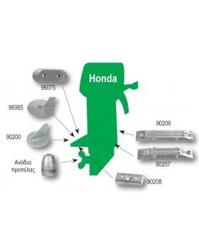 Ανόδιο σε σχήμα σφήνας για Mercury-Mercruiser & Honda, 0,25kg