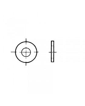 Ροδέλα φαρδιά 6x18 mm Inox 316 DIN 9021 / ISO 7093, Σακούλα