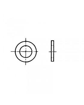 Ροδέλα Φ 8 mm Inox 316 DIN 125 / ISO 7089