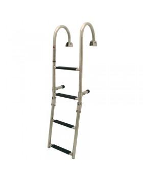 Σκάλα κουπαστής, αναδιπλώμενη, 2+3 σκαλοπάτια, Inox 316, 250x1160mm