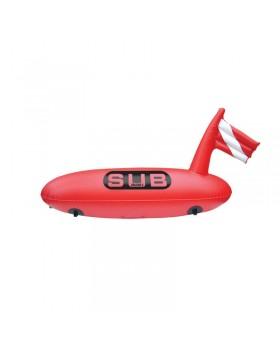 Σημαδούρα δύτη μακρόστενη ``Safe Dive`` διάμ. 28Cm μήκος 88Cm