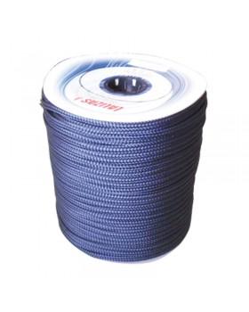 Σχοινί Πρόσδεσης 16-Kλωνο Διπλής Πλέξης, 16mm, Polyester, μπλε