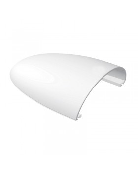 Κάλυμμα ``Κοχύλι`` Αεραγωγού 215x180x70mm, Λευκός