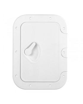 CLASSIC Πορτάκι με Κλειδαριά Λευκό 275x375mm