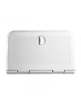 Πορτάκι για VHF/Radio CD, Λευκό, 180x285mm