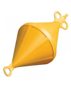 Σημαδούρα Αγκυροβ.Δικων. Σκλ.Πλαστ.Εξ.Ø280mm Πορτοκαλί