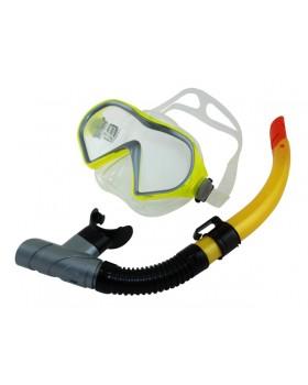 Blue Wave-Σετ Μάσκα / Αναπνευστήρας Goby Yellow