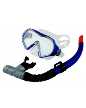 Blue Wave-Σετ Μάσκα / Αναπνευστήρας Goby Blue