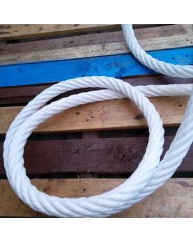Σχοινόσυρμα Polyester Λευκό
